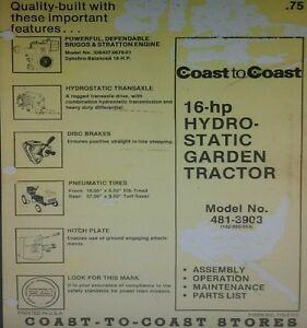 image is loading mtd-990-coast-to-coast-16hp-hydrostatic-lawn-
