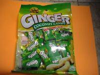 2 Bag 58 Pieces Suntak Ginger Coconut Hard Candy 4.23 Oz Snacks Keo Gung Dua
