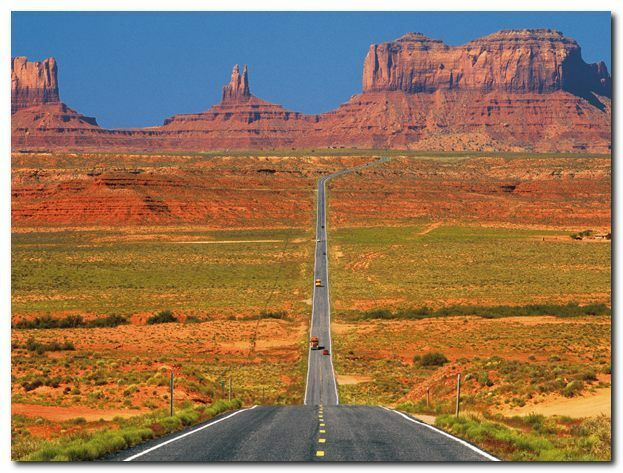 Quadro Jean-Pierre Lescourret 'Leading to Monument Valley' Stampa Stampa Stampa su Tela Canvas 4066f8