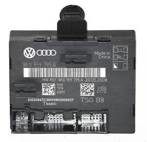 8k0959795a-Audi-a4-8k-b8-a5-8t-Tuer-Steuergeraet-Tuer-Steuergeraet-ECU-hinten-links