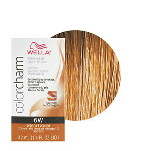 Wella Color Charm Permament Liquid Hair Color 42ml Praline