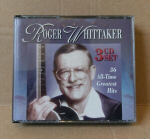 Roger-Whittaker-36-All-Time-Greatest-Hits-CD-Collection-1996-3-Disc-Set-RARE