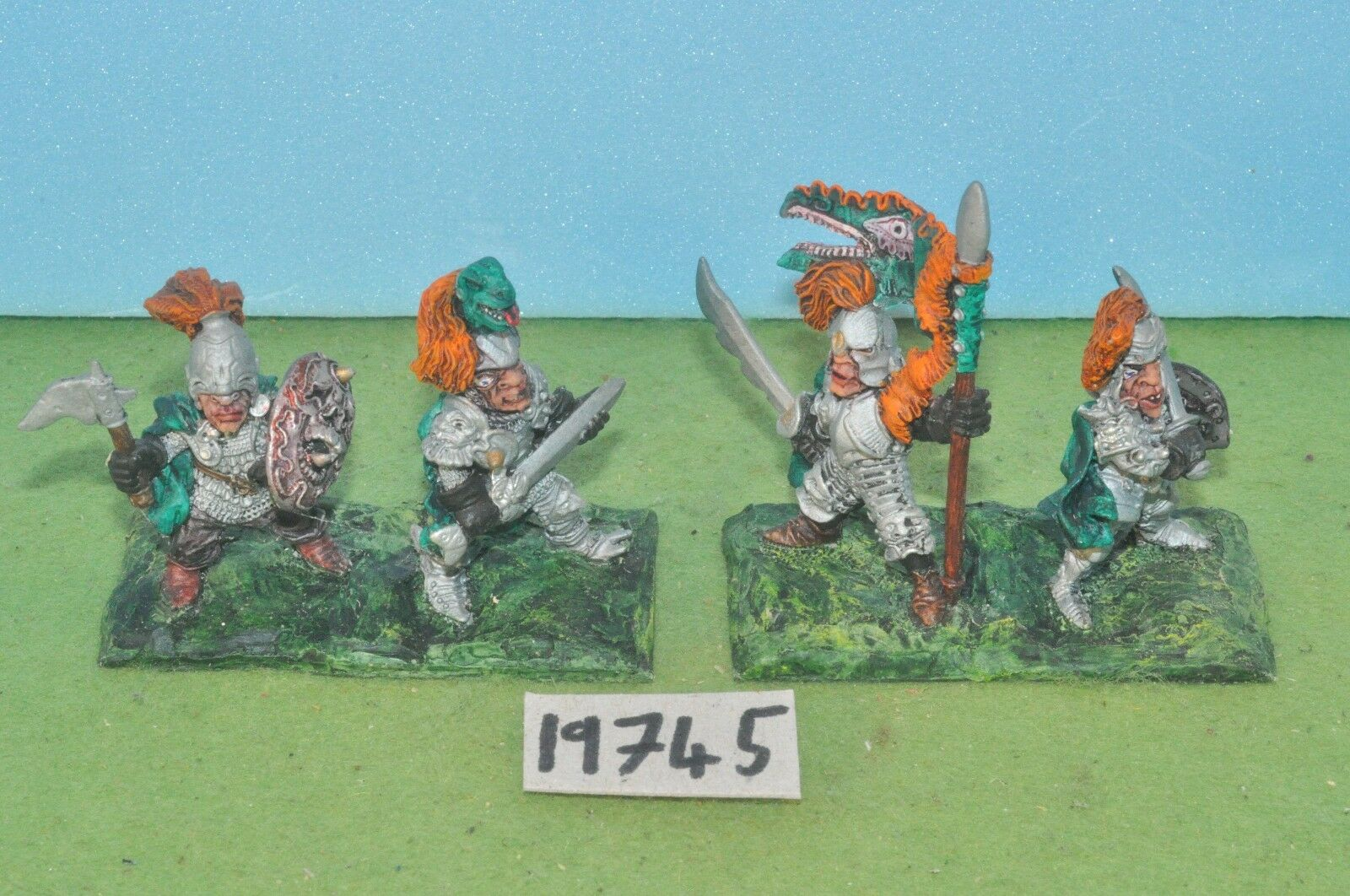 Item fantasy   warhammer - dogs of war ogre mercenaries 4 metal sigmar - (19745)