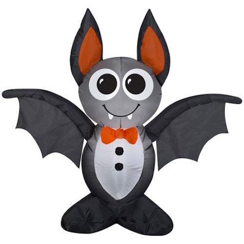 Vampire Vampire Vampire Bat Airblown Inflatable Halloween Yard Decor 4ft Gemmy 19f787