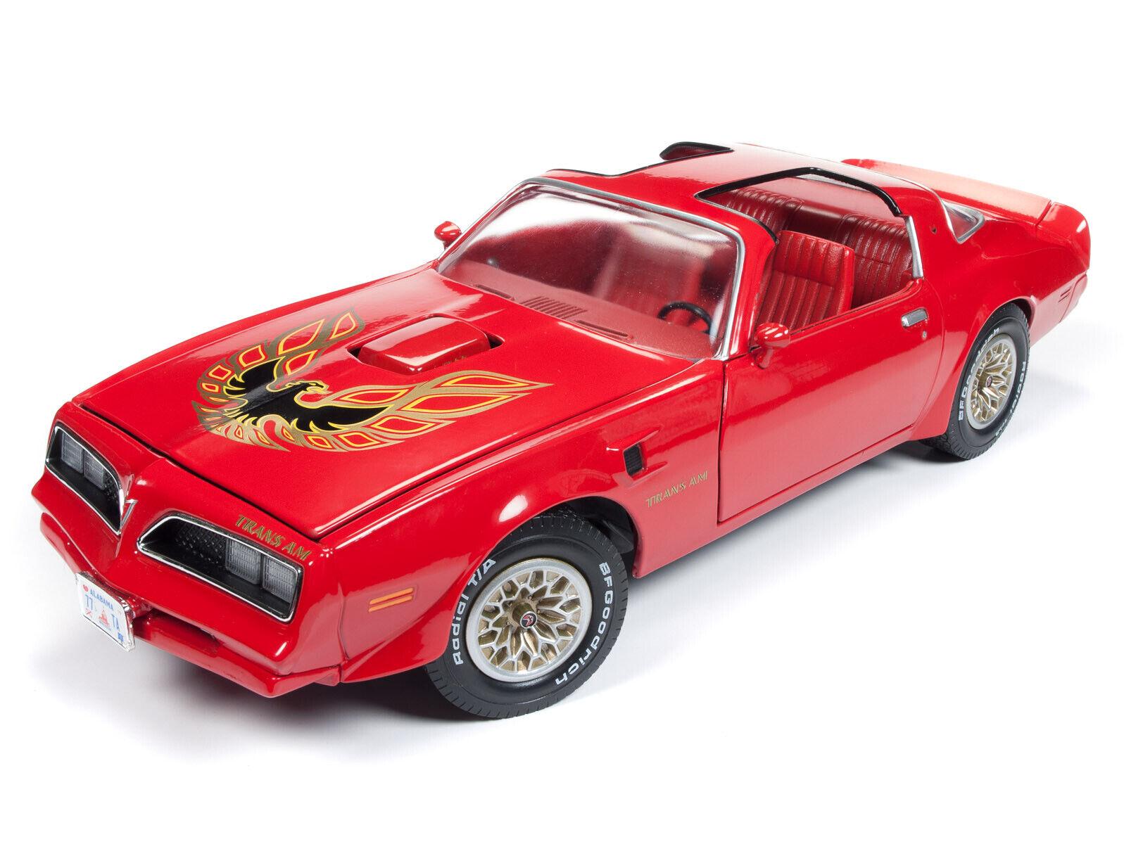 Brand NEW   1 18 1977 Buccaneer Buccaneer Buccaneer Red Pontiac Trans Am Firebird T-Top Car AMM1160 dd24fd