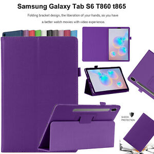 For-Samsung-Galaxy-Tab-S6-T860-T865-Case-Leather-Magnetic-Stand-Book-Smart-Cover