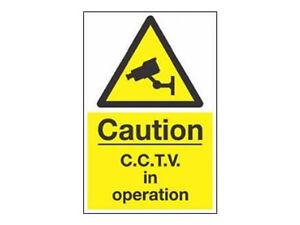 CCTV-in-Operation-Signalisation-avertissement-A3-300mm-x-400mm-Interieur-ou