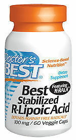 Doctor-039-s-Best-Stabilized-R-Lipoic-Acid-100mg-60-Veggie-Caps-Helps-Carbohhydrate