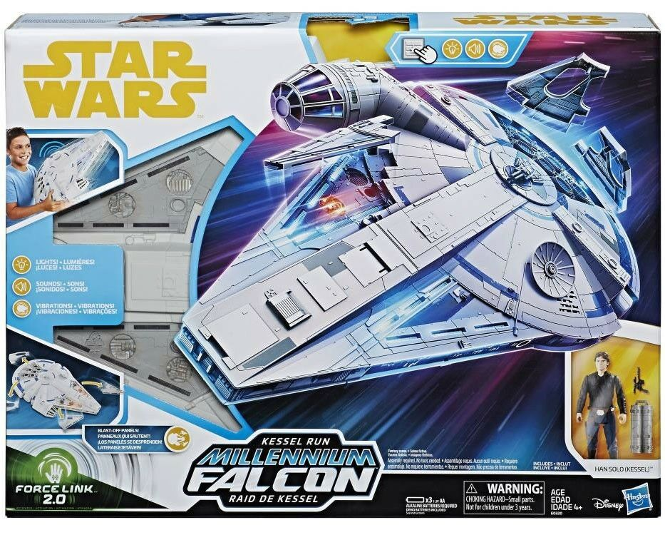 Force Link 2.0 Kessel Run Millennium Falcon Vehicle & Action Figure [Han Solo]