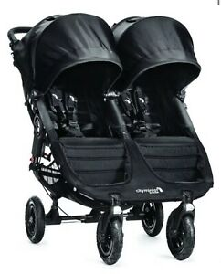 Baby Jogger City Mini GT Twin Baby Double Stroller Jet ...