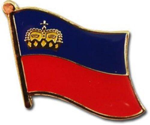 Liechtenstein Country Flag Bike Motorcycle Hat Cap lapel Pin