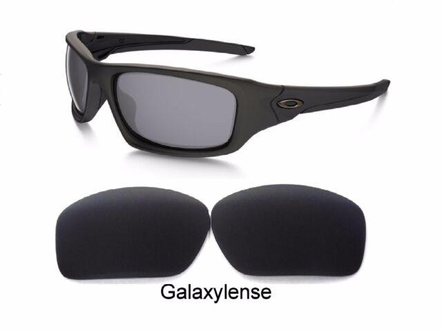 8542d3419a Galaxy Lentes de Repuesto para Oakley Valve Gafas de Sol Negro Polarizado