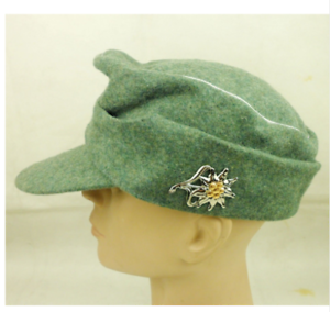SIZE L WWII GERMAN WH OFFICER M43 M1943 PANZER WOOL FIELD CAP CLASSICAL REPRO