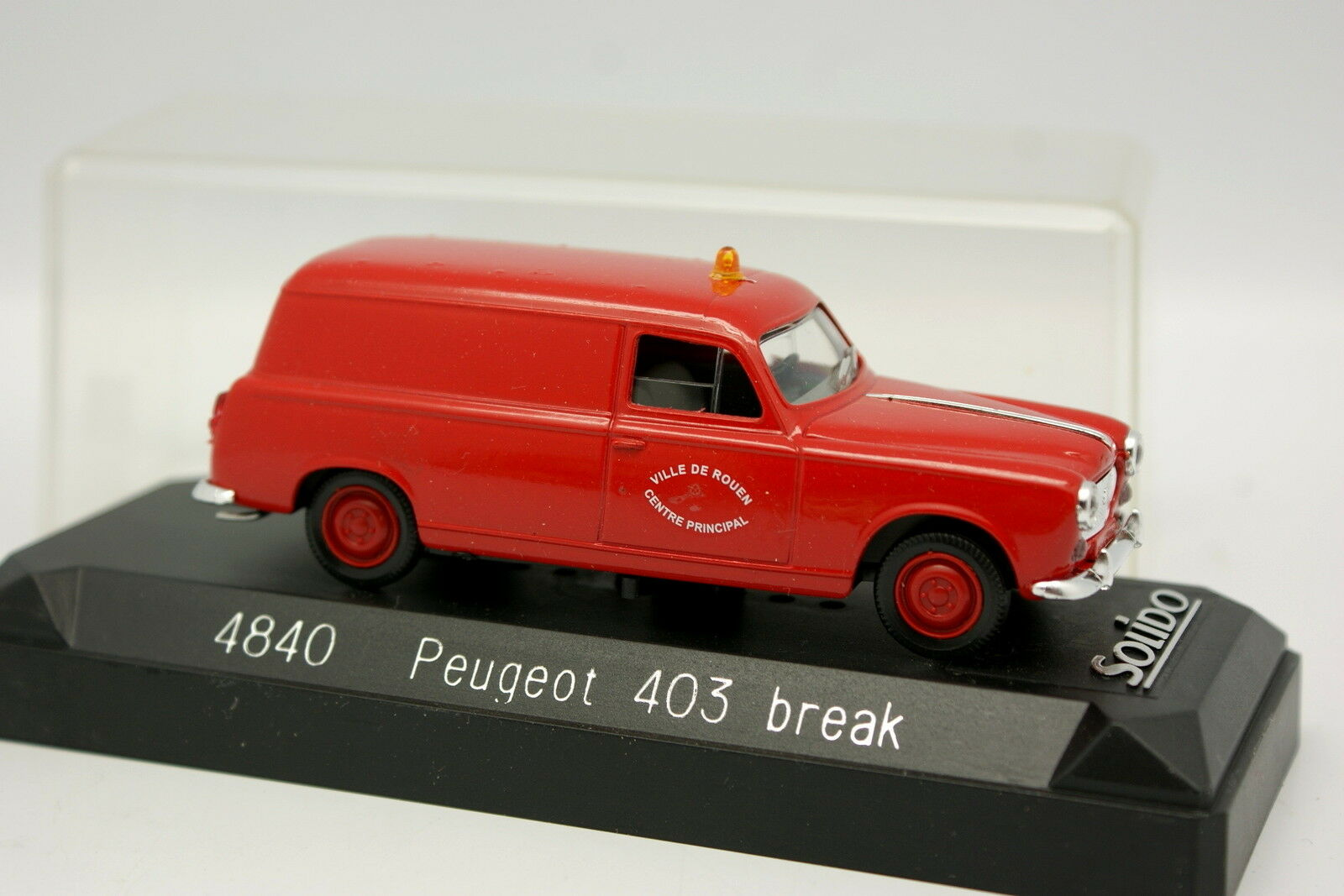Solido 1 43 - - - Peugeot 403 Firefighters Break Rouen 7b0ebd