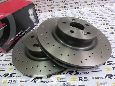 RENAULT CLIO SPORT CUP FRONT BRAKE PADS BREMBO GENUINE 7701208218