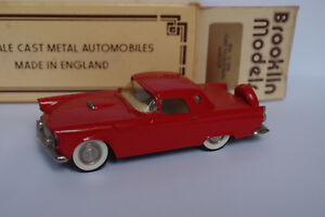 Brooklin Brk 13 1956 Ford Thunderbird Hardtop 1/43