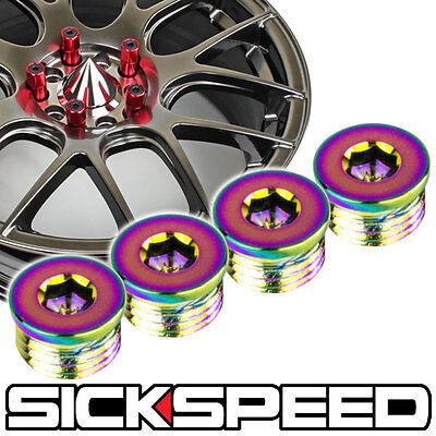 SICKSPEED 24 PC STEEL SET BLACK CAPS 60MM LUG NUTS FOR WHEEL//RIM 12X1.5 L18
