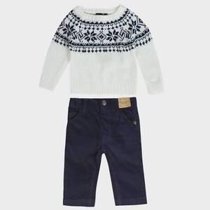 9c953f5c4862 Boys Jumper   Trousers Set