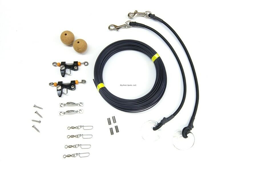 New Tigress Deluxe Outrigger Single Rigging Kit 88602