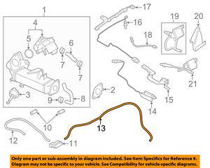 details about bmw oem 09 18 x5 3 0l l6 engine vacuum hose 11747797129 V4 Engine Diagram
