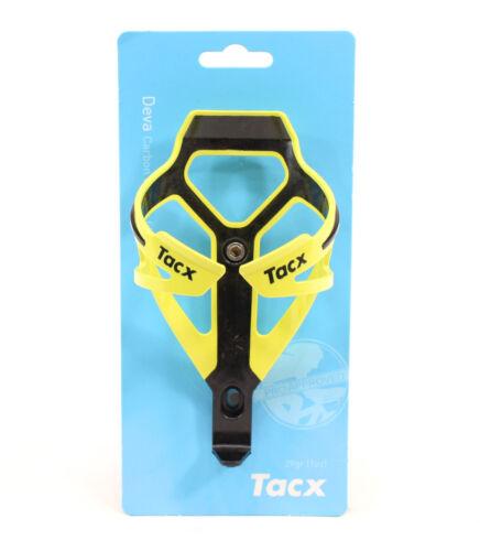 Nouveau TACX Deva bouteille d/'eau Cage jaune Route Mtb Mountain Bike