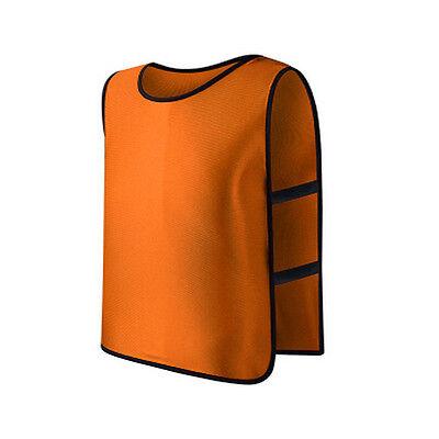 Children Kid Football Team Sports Vest Soccer Training Pinnies Jerseys Train Bib