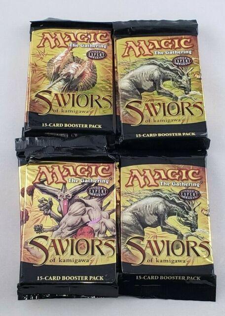 MTG Saviors Of Kamigawa Magic The Gathering Sealed Fat Pack Booster packs