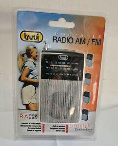RADIO AM/FM PORTATILE A BATTERIE TREVI
