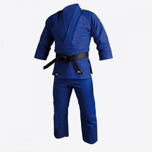 New adidas Jiu-Jitsu Training Gi Uniform Heavy Duty BJJ Kimono Gi JJ350-BLUE