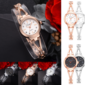 Lvpai-Women-039-s-Luxury-Watch-Crystal-Diamond-Bracelet-Quartz-Alloy-Wrist-Watch