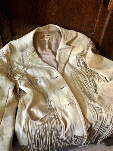women's leather fringe jacket