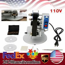 Hot Stamp Printer 110v Ribbon Manual Hot Foil Stamping Printer Date Code Printer