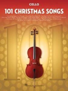 101 Chansons De Noël Pour Violoncelle Instrumental Folio Livre Neuf 000278646-afficher Le Titre D'origine