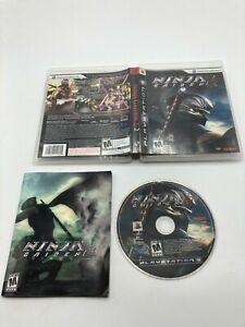 Sony PlayStation 3 PS3 CIB Complete Tested Ninja Gaiden Sigma 2