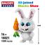 Balody16021 Bausteine Gebäude Haustier Serie Kaninchen Spielzeug Geschenk Bricks
