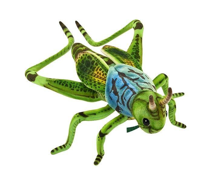 Hansa Toy 6879 verde SALTAMONTES 27cm peluche peluche