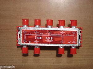 Fte-AS8-T-Schelle-8-Wege-Mit-Durchgang-Von-Strom-Steckverbinder-F