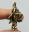 1-6-034-Collect-Nepal-Tibetan-Buddhism-Bronze-Garuda-Dhwaja-Buddha-Amulet-Pendant thumbnail 2