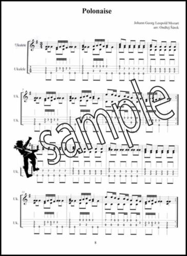 Leopold Mozart/'s Notebook for Wolfgang Arranged for Ukulele TAB Music Book