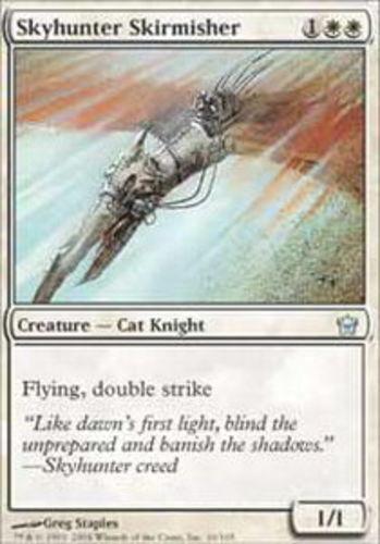 4 Skyhunter Skirmisher ~ Near Mint Fifth Dawn 5th 4x x4 Playset UltimateMTG Magi