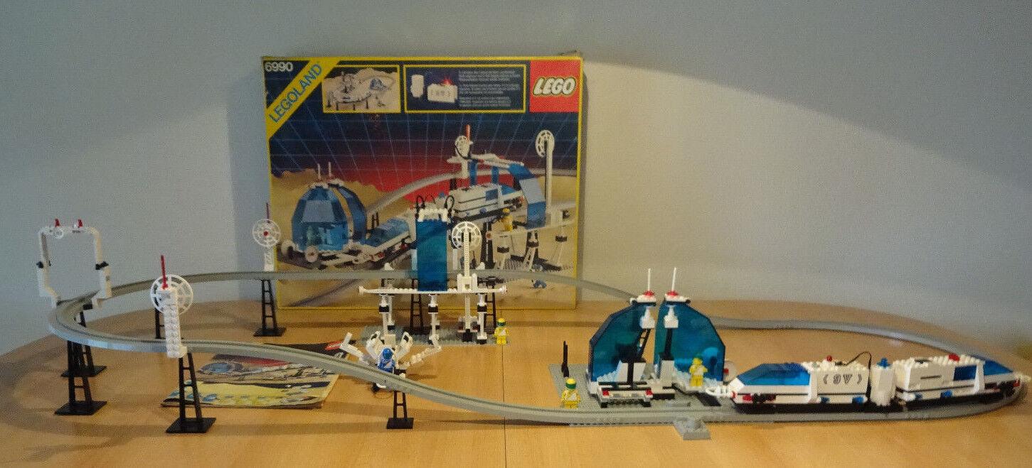 (GO) LEGOLAND 6990 MONORAIL TRANSPORT SYSTEM MIT OVP & BA 100% KOMPLETT SPACE