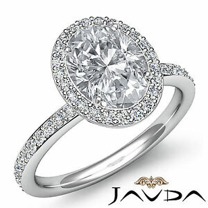 2-ct-Oval-Diamond-Vintage-Engagement-Halo-Classic-Ring-H-VS2-14k-White-Gold-GIA