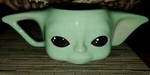 Star-Wars-Mandalorian-The-Child-Ceramic-Mug-Cup-Disney-Grogu-Baby-Yoda-NWT