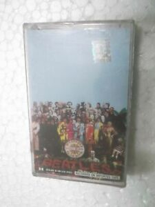 THE BEATLES SGT PEEPER LONELY HEARTS SEALED 1999 RARE orig CASSETTE TAPE INDIA
