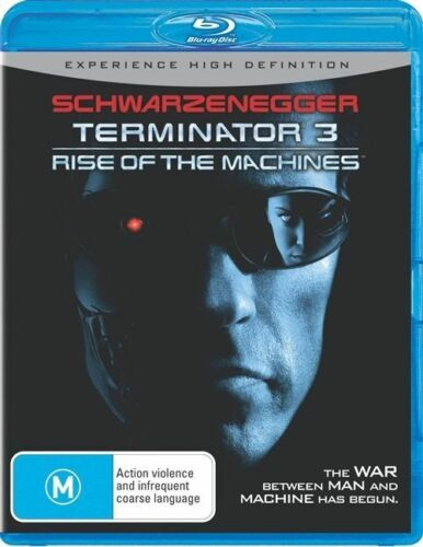 1 of 1 - Terminator 3 - Rise Of The Machines - Blu-ray - NEW+SEALED - fast free post