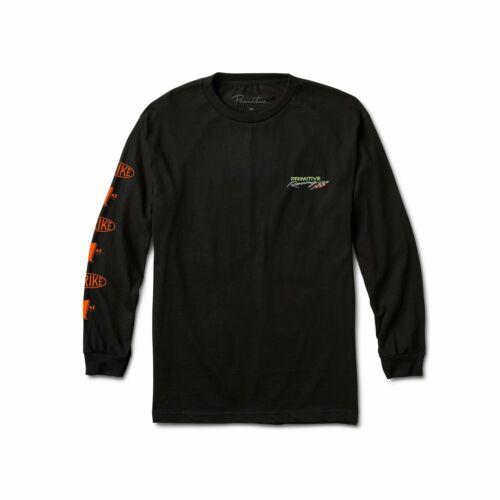 Black Primitive Speed Long Sleeve T-Shirt