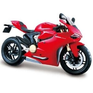 MAISTO-1-18-DUCATI-1199-PANIGALE-MOTORCYCLE-BIKE-DIECAST-MODEL-TOY-NEW-IN-BOX