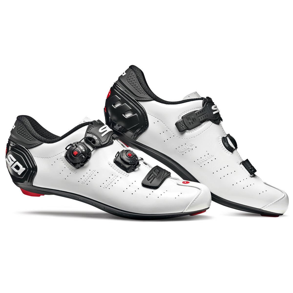 Schuhe SIDI ERGO 5 Größe 45 weiß schwarz
