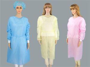 Cubierta-de-aislamiento-de-laboratorio-limpio-medicas-desechables-Vestido-Ropa-Quirurgica