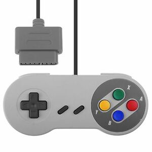 Replacement-Controller-Pad-for-USA-amp-EU-Super-Nintendo-SNES-Color-ABXY-Button